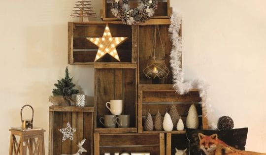des sapins de no l garantis sans pines caisses en. Black Bedroom Furniture Sets. Home Design Ideas