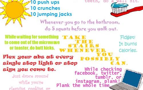everyday workout for lazy people   girl look at that bodyyyy
