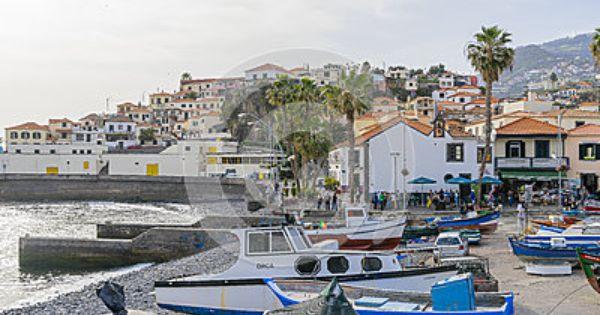 Port In Camara De Lobos Fishing Villages Madeira Island Village