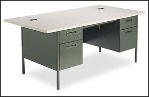 Hon Home Office Metal Desks Classic Computer Desk Classic Desk Desk