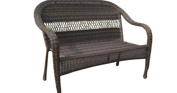 Shop Garden Treasures Severson Textured Black Steel Woven