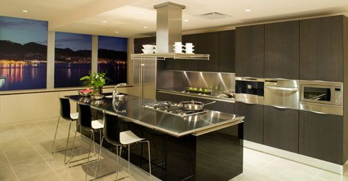 Cocinas Con Islas 6 Decoracion De Cocina Moderna Diseno Cocinas Modernas Cocinas Modernas Grandes
