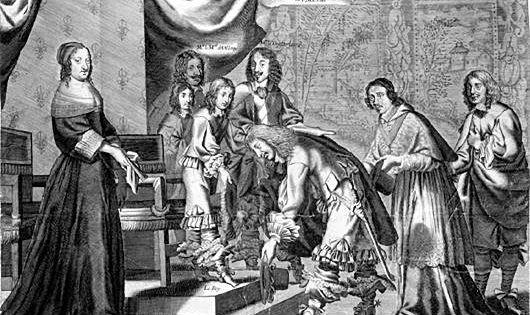 En 1650, la Fronde entre dans une seconde phase, la Fronde des ...