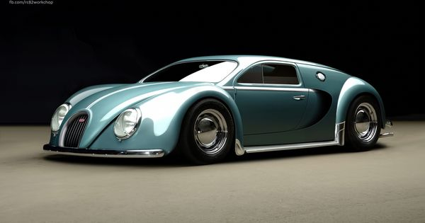 What if Bugatti Veyron makes love with VW Beetle? - Auto Chunk