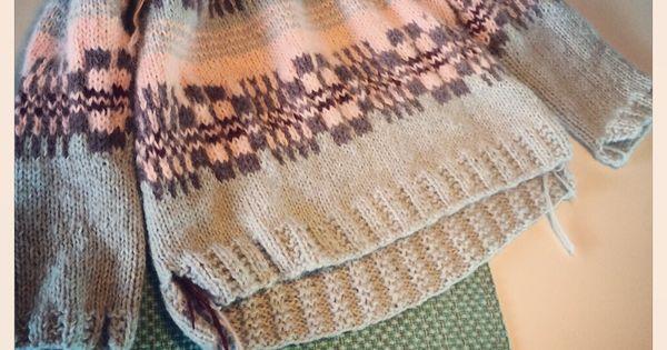 Mer skappelstrikk. Sommerakvarell Knitwear Pinterest Knitting ideas