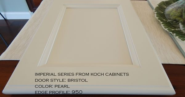 Imperial Series From Koch Cabinets Door Style Bristol Edge Profile 950 Wood Species Paint G Kitchen And Bath Remodeling Wood Species Palm Harbor Florida