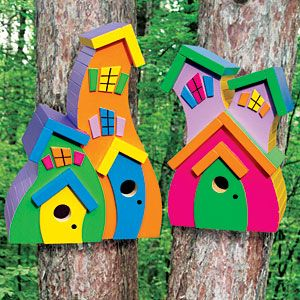 Fancy Wooden Bird Houses Recycled Birdhouse Company Recycled