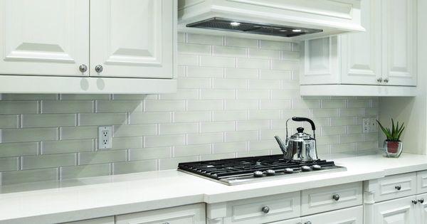 Oversized Subway Tile Kitchen