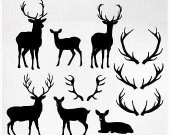 35+ Deer head clipart vector free download information