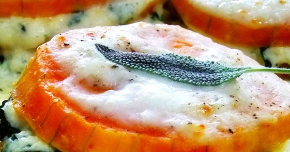 Individual Butternut Squash Lasagna with Infused Bechamel - Proud Italian Cook