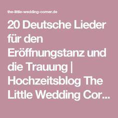 20 Deutsche Lieder Fur Den Eroffnungstanz Und Die Trauung Lieder Hochzeit Liebeslieder Hochzeit Musik Hochzeit