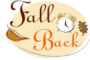 Daylight Savings Time Falling Back Daylight Savings Time Daylight Savings Fall Back Turn Clocks Back