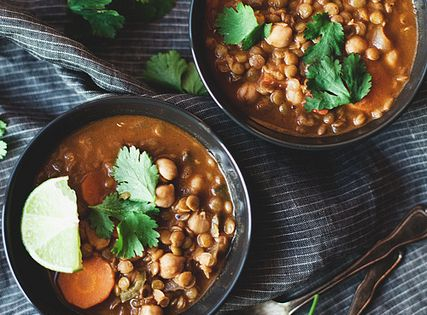 Coconut curry, Lentils and Curries on Pinterest