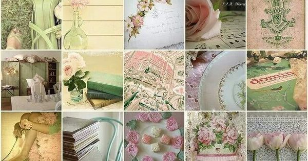 Green And Pink On Pinterest