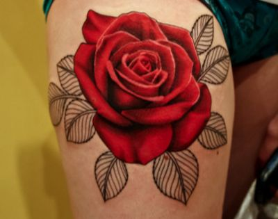 3d flower tattoo designs | New Adapter