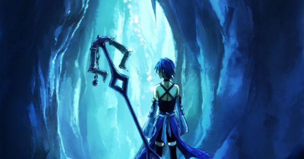 Aqua in deep dive birth by sleep kingdom hearts - Kingdom hearts deep dive ...