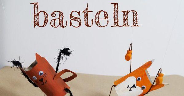 marionetten basteln mit kindern basteln mit kindern kindergarten and upcycling. Black Bedroom Furniture Sets. Home Design Ideas