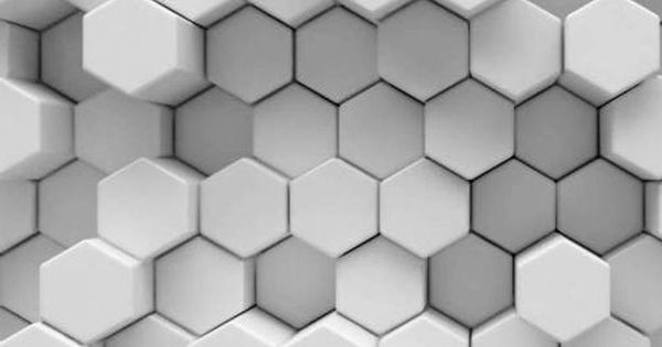 3d Grigio Bianco Favi Brick Wall Stairway Decorazione Adesiva In 2020 Brick Wall Hexagon Design Vinyl Panels