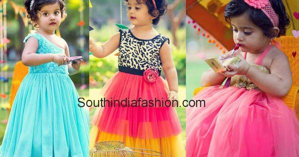 Super Cute Baby in Bhargavi Kunam Dresses
