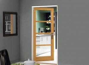 Edge Single Internal Oak Door 838mm 33 Inch Wide Internal Oak Doors Bifold Doors Room Divider Doors