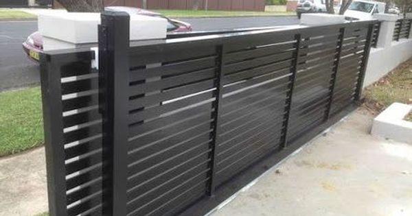Aluminium Sliding Gates Nz Google Search Entrance Gates Driveway Modern Fence Design Fence Design