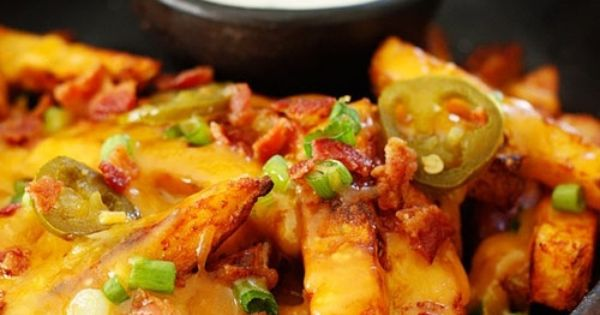 Skinny Texas Cheese Fries from Skinnytaste. Reduced fat ...