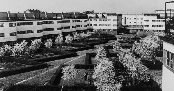 frankfurt am main lak telep 1927 architekt ernst may kertv rosi hagyom nyok saj t kert. Black Bedroom Furniture Sets. Home Design Ideas