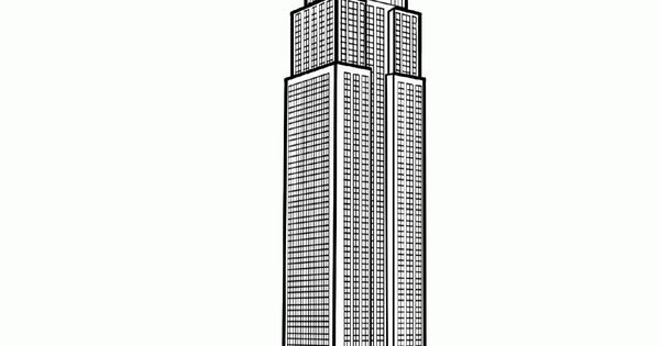 empire state building coloring page - free coloring page coloring adult new york empire state