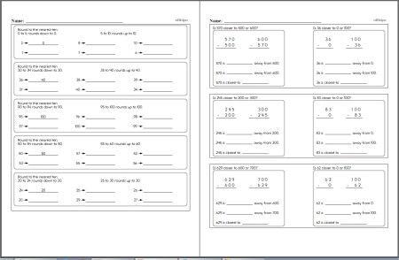 Second Grade Math Worksheets Edhelper Com Math Workbook Third Grade Math Worksheets Fifth Grade Math