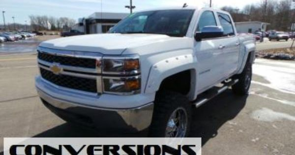 Used 2014 Chevrolet Silverado 1500 Crew Cab Lt Lifted Truck 2014