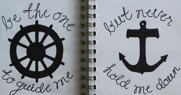 anchor quote this would make a very cute tattoo