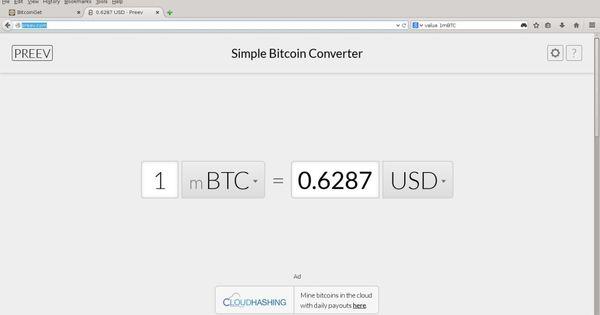 Bitcoin Calculator Ubtc