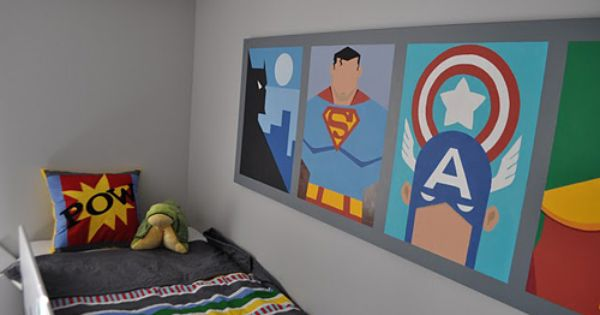 Super Hero Rooms Can Make Dreams