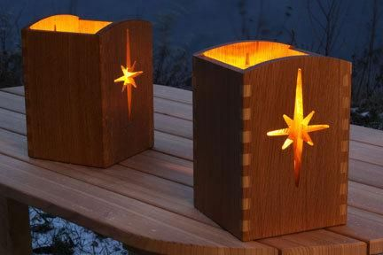 Luminary Project Wood Working Gifts Easy Woodworking Projects Diy Woodworking