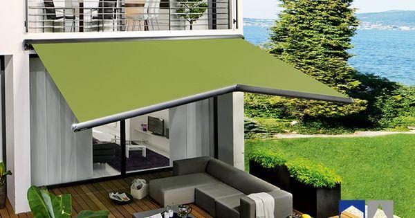 Toldos brazo extensible semicofre terrazas pinterest - Toldos para patios exteriores ...