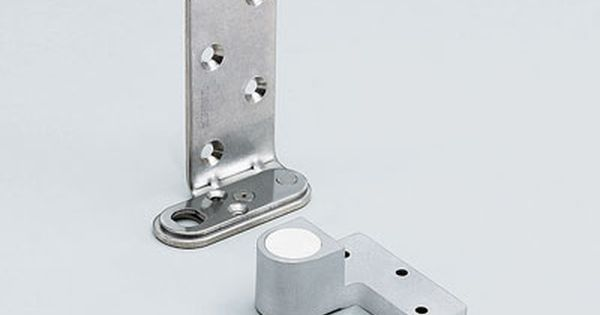 2 Way Adjustable Pivot Hinge Chrome Finish Hinges Chrome