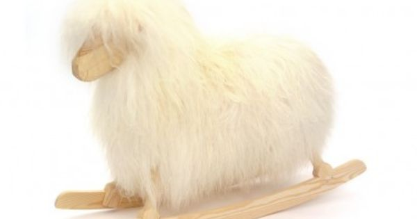 Danish Crafts Rocking sheep - white White - Children's Toys and games
