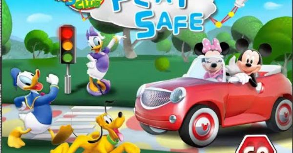 Mickey S Safety Club Games Play Safe Mickey Mouse Educational Video Mickey Mouse Games Mickey Mouse Games To Play