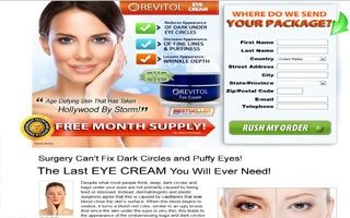 Revitol Eye Cream Get Rid Of Dark Circles Wrinkles And Puffiness