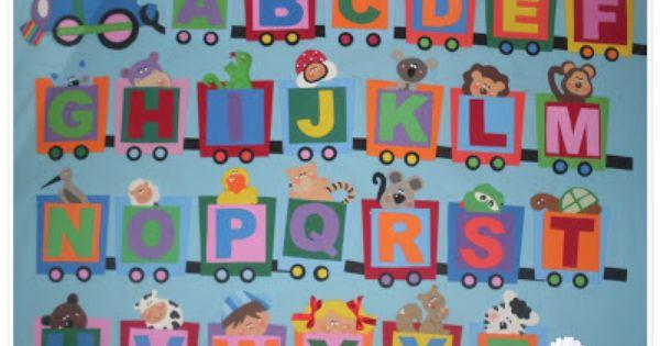 Christina Azul Com Imagens Alfabeto De Eva Decoracao Classe