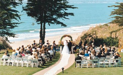 This Is Perfect Not On The Beach But Close Enough Beach Wedding Locations California Beach Wedding Beach Wedding Venues California