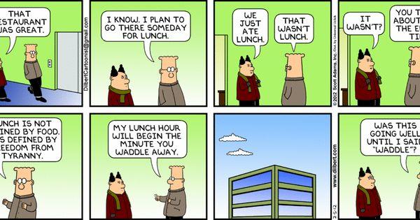 Dilbert comic strip for 08/26/2011 from the official ... |Dilbert Break