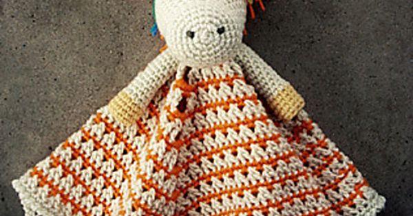 Knitting Pattern For Unicorn Blanket : Ravelry: chalklegs Unicorn Lovey Pattern: Unicorn Lovey ...