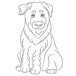 German Shepherd Pup Puppy Coloring Pages Coloring Pages For Kids Coloring Pages