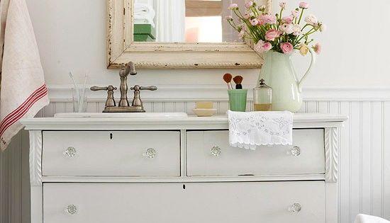 Vanities Dressers And Dresser Vanity On Pinterest