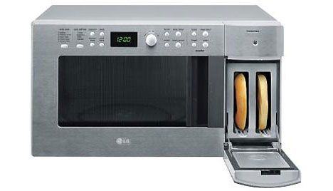 Microwave Accessorizes With Built In Toaster Cool Kitchen Gadgets Microwave Toaster Kitchen Gadgets