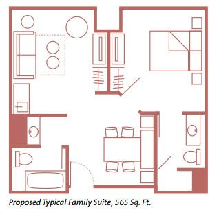 Art Of Animation Resort Family Suite Floor Plan