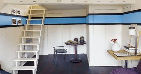 am nager son garage en pi ce vivre flats to the wall and studios. Black Bedroom Furniture Sets. Home Design Ideas