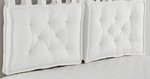 Cuscino per testata letto arredamento pinterest - Coprirete vestiletto ikea ...