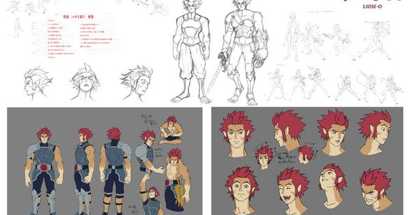 Nbos Character Sheet Designer Review : The dork review new thundercats model sheets animation